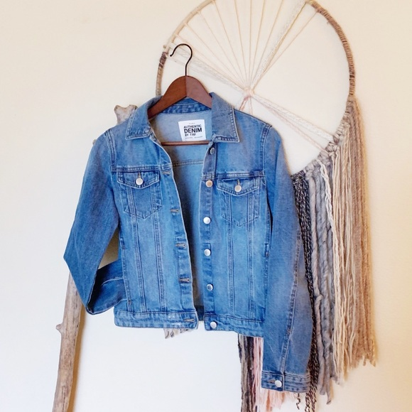 3f84ab97 Zara Authentic Denim by TRF-Light Denim Jacket